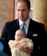 HRH Prince George Of Cambridge Is Christened At St James' Palace