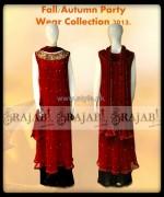 Rajab by Arsalan Ishtiaq Casual Dresses 2013 For Women 6