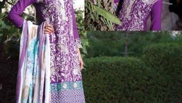 Rujhan Fabric Winter Dresses 2013 For Women 004