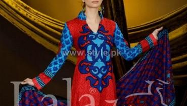 Sana Samia Khaddi Dresses 2013 Volume 3 by Lala Textiles 1