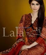 Sana Samia Khaddi Dresses 2013 Volume 3 by Lala Textiles 2