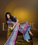 Sana Samia Khaddi Dresses 2013 Volume 3 by Lala Textiles 4