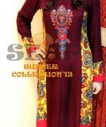 Seap By Sanaa Arif Winter Dresses 2013 For Women 005