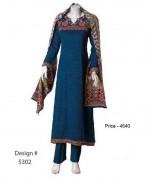 Senorita Fashions Winter Dresses 2013-2014 For Women 0011