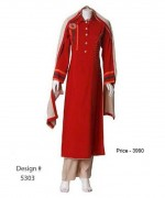 Senorita Fashions Winter Dresses 2013-2014 For Women 005