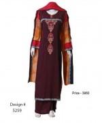 Senorita Fashions Winter Dresses 2013-2014 For Women 008