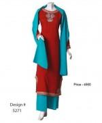 Senorita Fashions Winter Dresses 2013-2014 For Women 009