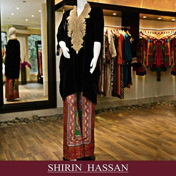 Shirin Hassan Winter Dresses 2013 For Women 006