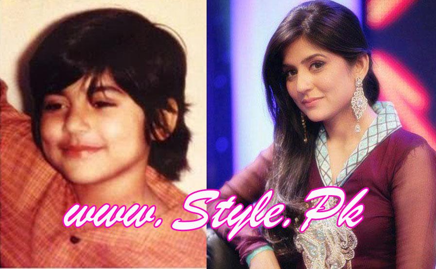 Mahnoor Baloch childhood pics