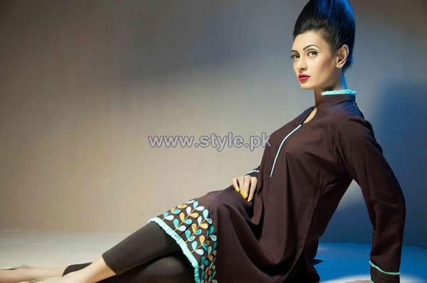 Yasmin Zaman Winter Dresses 2013-2014 For Women 6