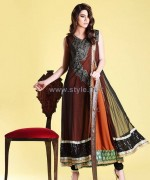 Zahra Ahmad Party Dresses 2013-2014 For Winter 1