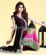 Zahra Ahmad Party Dresses 2013-2014 For Winter 3
