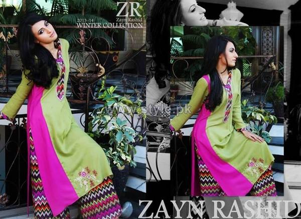 Zayn Rashid Winter Dresses 2013-2014 For Women 4