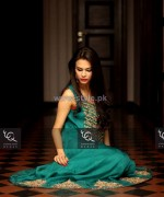 Ayesha and Usman Qamar Winter Dresses 2014 For Girls 3