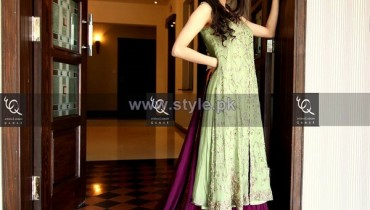 Ayesha and Usman Qamar Winter Dresses 2014 For Women 7