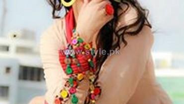 Azleena Faisal Winter Dresses 2014 For Girls 6