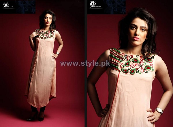 Black and White Couture Party Dresses 2014 For Women 5