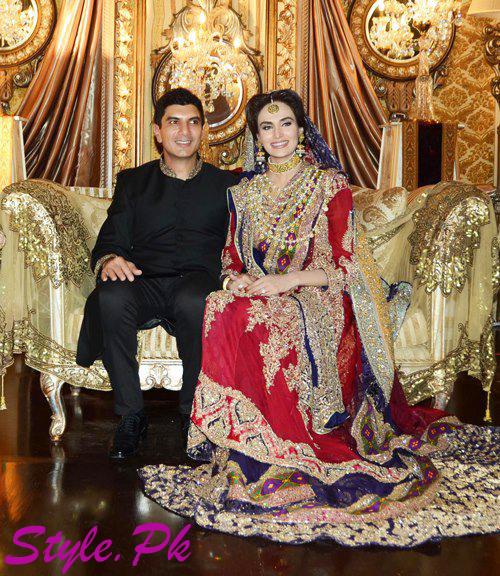Celebrity Wedding 2013-mehree syed