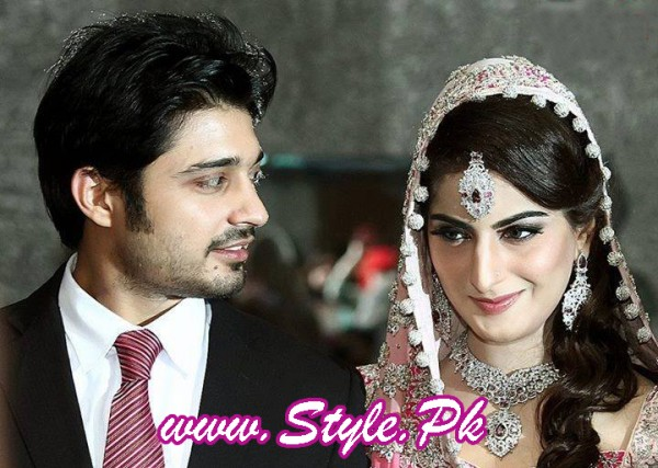 Celebrity Wedding 2013-sana nd babar