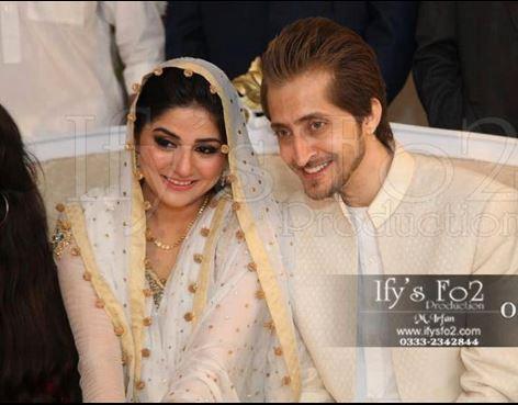 Celebrity Wedding 2013-sanam baloch