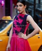 Chunnat Winter Dresses 2014 For Girls 2