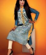 Cross Stitch Winter Dresses 2014 For Girls 5