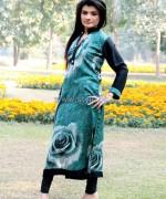 Damak Casual Wear 2014 Dresses For Winter 1