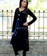 Damak Casual Wear 2014 Dresses For Winter 3