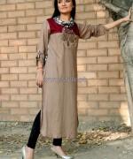 Damak Casual Wear 2014 Dresses For Winter 6