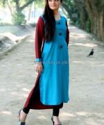 Damak Casual Wear 2014 Dresses For Winter 7