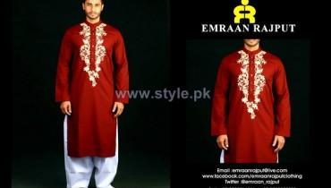 Emraan Rajput Formal Wear Kurtas 2014 For Boys 2