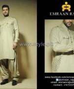 Emraan Rajput Winter Shalwar Kameez Designs 2013-2014 For Men 5