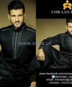 Emraan Rajput Winter Shalwar Kameez Designs 2013-2014 For Men 8