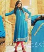 Evolution Textiles Winter Dresses 2013-2014 For Women 005