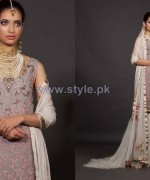Fahad Hussayn Embroidered Clothes 2013-2014 For Brides 1
