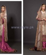 Fahad Hussayn Embroidered Clothes 2013-2014 For Brides 2