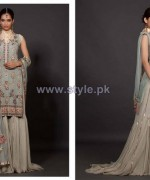 Fahad Hussayn Embroidered Clothes 2013-2014 For Brides 6