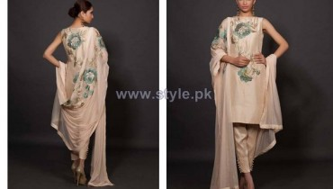 Fahad Hussayn Embroidered Dresses 2013-2014 For Brides 13