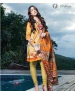 Firdous Fashion Corduroy Collection 2013-2014 For Winter 12
