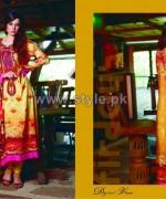 Firdous Fashion Digital Viscose Dresses 2014 For Girls 1