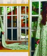 Firdous Fashion Digital Viscose Dresses 2014 For Girls 2