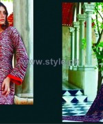 Firdous Fashion Digital Viscose Dresses 2014 For Girls 3
