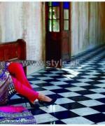 Firdous Fashion Digital Viscose Dresses 2014 For Girls 6