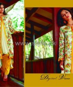 Firdous Fashion Digital Viscose Dresses 2014 For Women 10