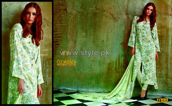 Firdous Fashion Digital Viscose Dresses 2014 For Women 11
