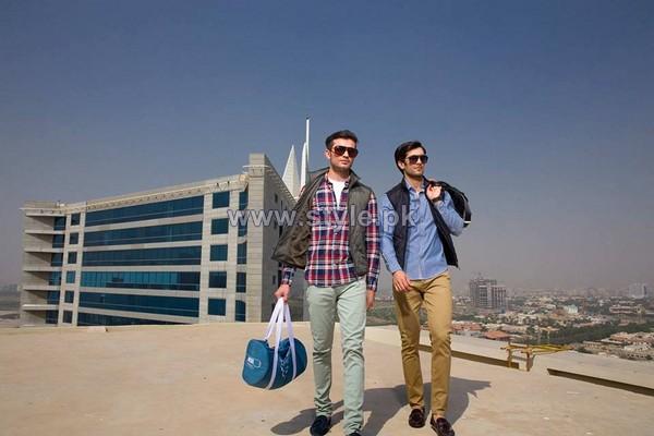 Gul Ahmed Ideas Winter Dresses 2014 For Men 6