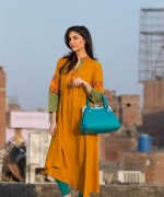 Gul Ahmed Ready to Wear Dresses for Winter 2014 003