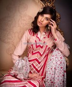 Ittehad Textile Printed Silk Dresses 2014 For Winter 2