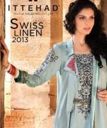 Ittehad Textiles New Linen Dresses 2014 for Women 002