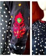 Jalebi Winter Casual Dresses 2014 For Girls 2